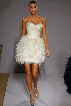 Summer 2010 Wedding Dress Trends Short Dresses. 6