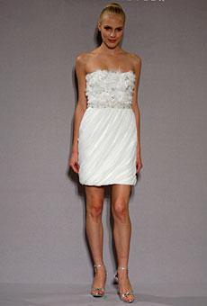 Summer 2010 Wedding Dress Trends Short Dresses. 8