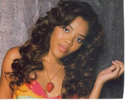 Angela Simmons Hairstyles